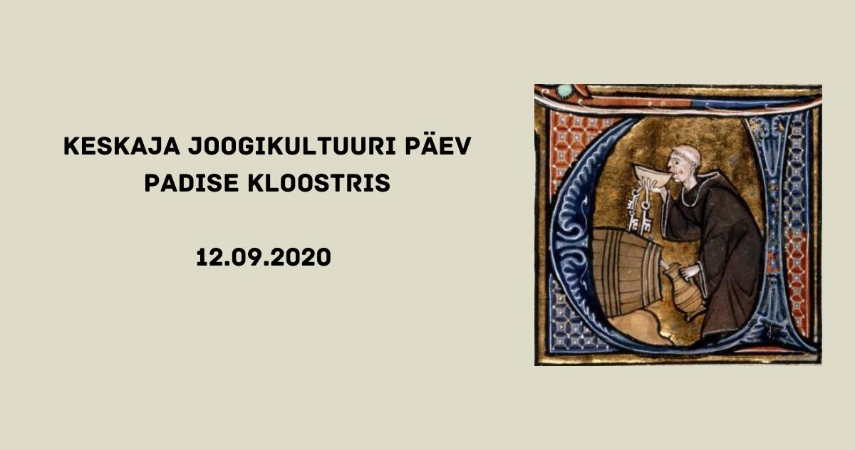 Keskaja joogikultuuri päev 12.09.2020