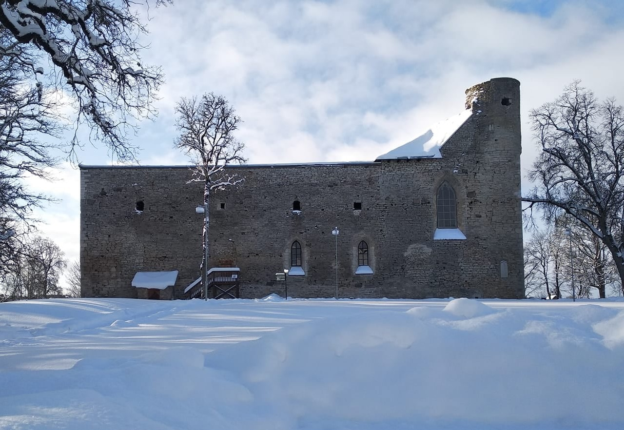 Talvine Padise klooster